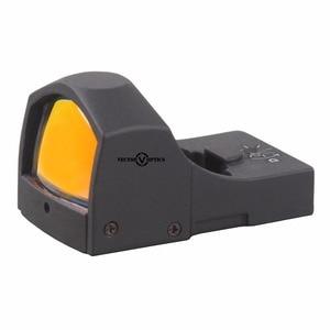 Image 4 - Vector Optics Sphinx 1x22 Auto Helligkeit Kompakte Red Dot Anblick Arzt 3 MOA 9mm Pistole 12ga Shotgun reflexvisier