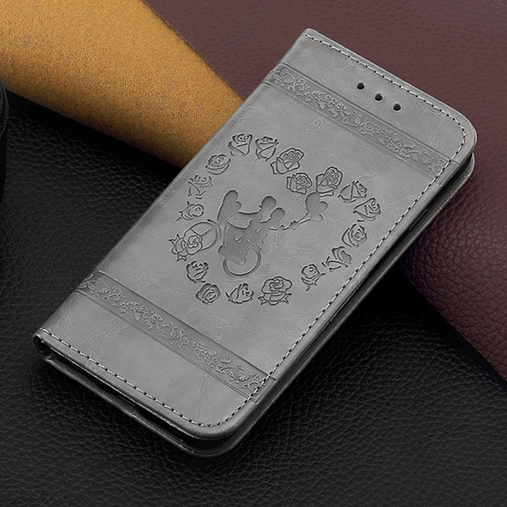 Vintage Wallet Leather Case For iPhone 6 Bags 6S Luxury Coque Stand Cover for iPhone 6 S 6S Phone Cases With Card Slot Shell