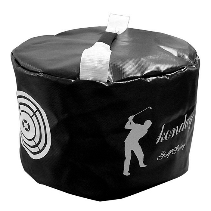Golf Power Impact Swing Aid Bag Practice Training Smash Hit Strike Bag Trainer Exercise Package Multi-function Aids 9
