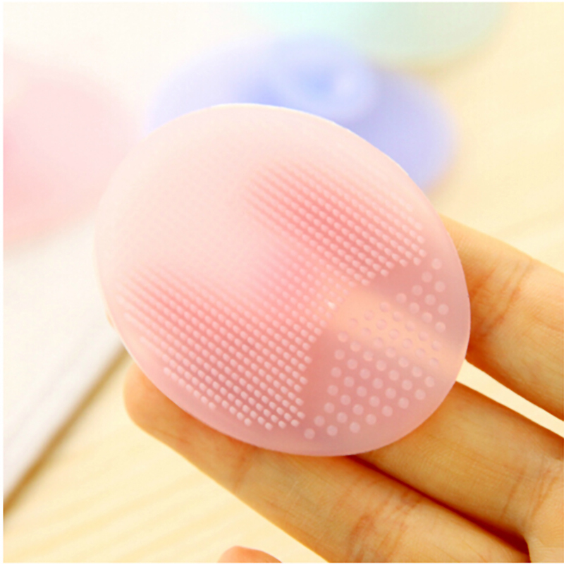 2017 Dropshipping Cleaning Pad Wash Face Facial Exfoliating Brush Spa Skin Scrub Cleanser Tool