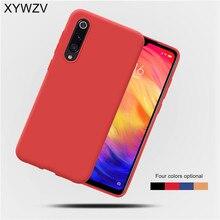 Xiaomi Mi 9 Case Shockproof Cover Soft Rubber Silicone Matte Protective Phone Case For Xiaomi Mi 9 Back Cover Xiaomi Mi 9 Mi9 цена