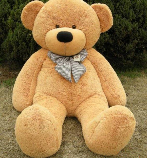 NEW TEDDY BEAR HUGE BIG STUFFED ANIMAL TOY Gift 80cm