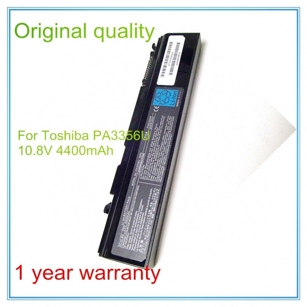 10.8 V 4400 D'origine Nouvelle batterie d'ordinateur portable Pour A10 A50 A55 M10 S3 K21 K30 K31 PA3356U PA3356U-1BRS PABAS161 PABAS104 6 CELLULES