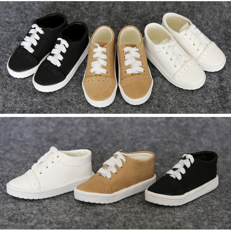 1Pair New BJD Doll Accessories 3Color Casual BJD Shoes 1/4 1/4 1pair 1 3 1 4 bjd doll shoes black casual shoes for bjd doll