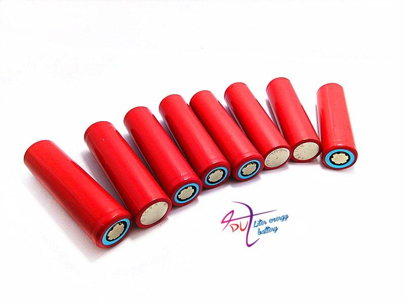 4st / lot Original Nytt Sanyo 18650 Li-ion uppladdningsbart batteri - Surfplatta tillbehör - Foto 3