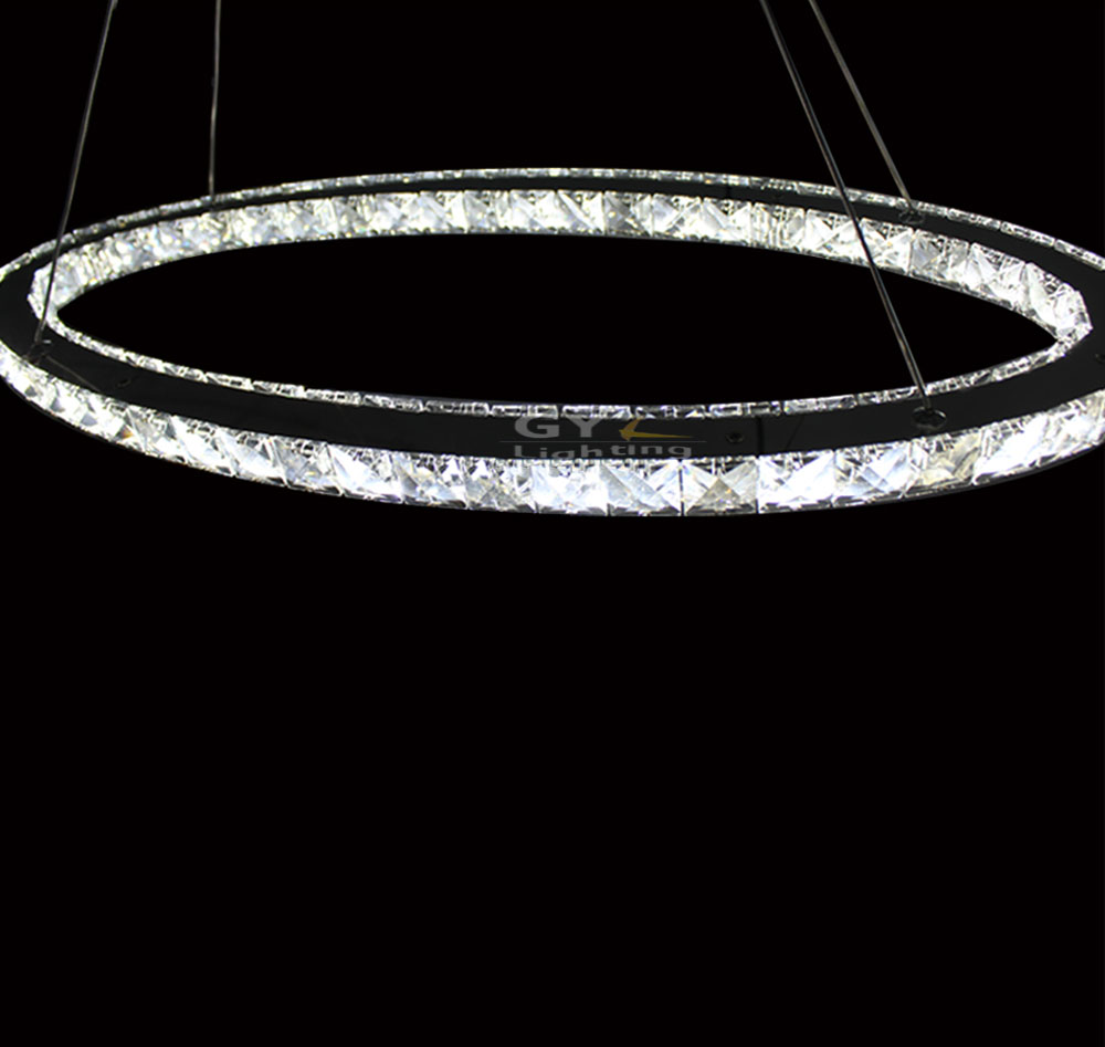 L30cm L40cm L50cm Oval LED Crystal Pendant Lights Home Living Room Lighting Modern UK Soccer Energy Saving Lamp Fixtures