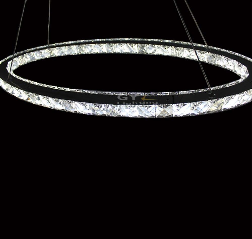 L30cm L40cm L50cm Oval LED crystal Pendant lights home living room lighting  Modern UK Soccer LED