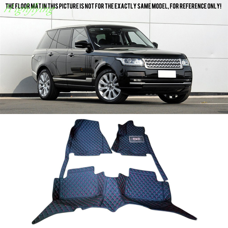 Floor Mats Carpet For <font><b>Land</b></font> <font><b>Rover</b></font> Range <font><b>Rover</b></font> Executive Edition (L322) 08-12 For 4 /5 Seats (<font><b>L405</b></font>) 13-16 For Long Wheelbase 14-16 image