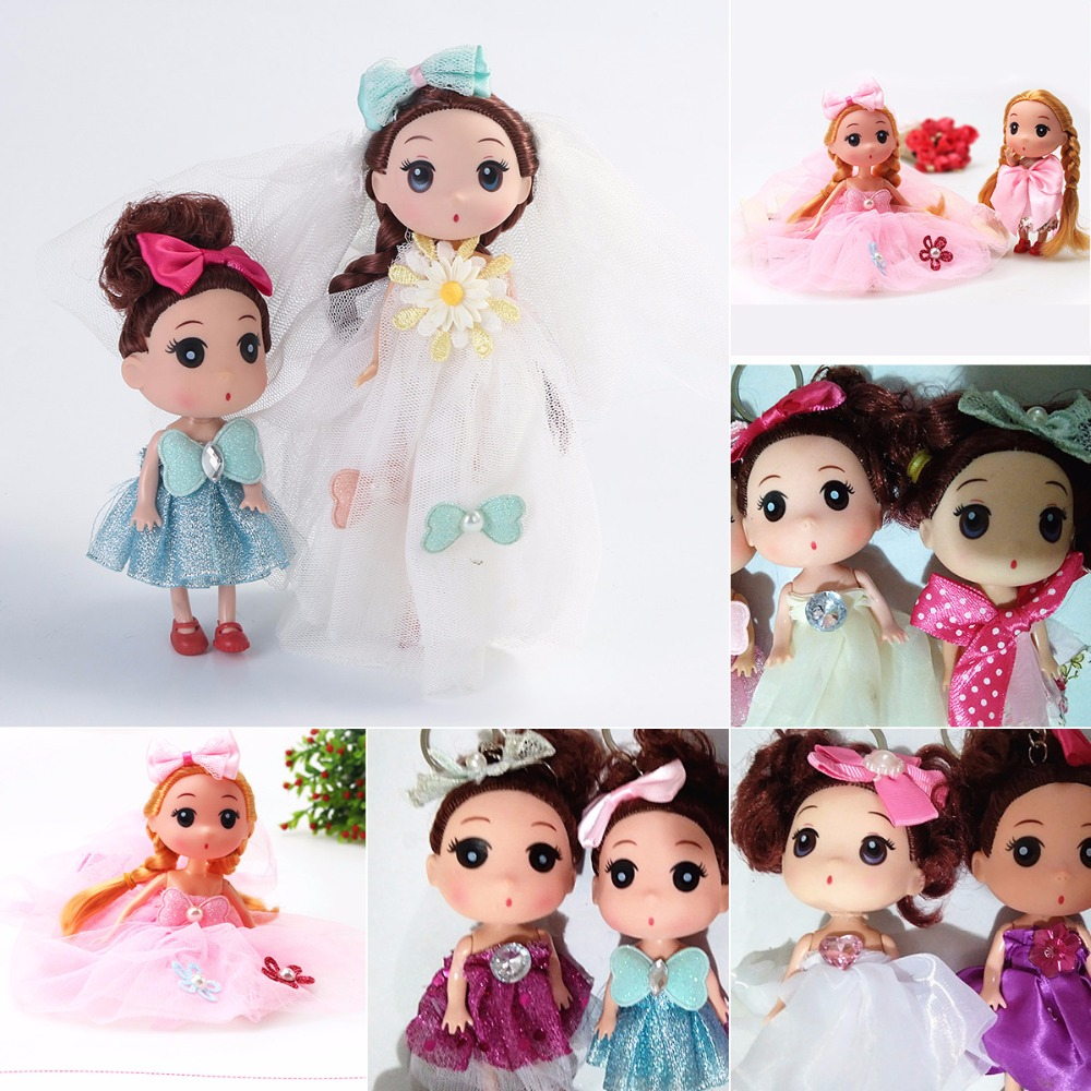 Kids Toy Soft Interactive Baby Dolls 12 18cm Confused Doll