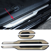4 Pieces per Set For Toyota Corolla Hatchback 2019 Stainless Steel Scuff Plate Door Sill Cover Trim Car Styling Accessories