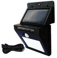 Solar Lights Outdoor 20 30 48 LEDs PIR Motion Sensor Activated Separable Light For Garden Security