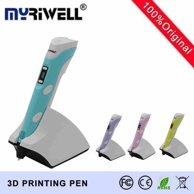 myriwell portable 3d stylo avec recharge sans fil stylo 3d mod le pour enfants intelligente. Black Bedroom Furniture Sets. Home Design Ideas