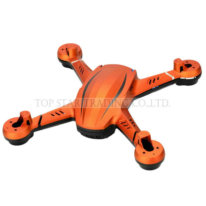 JJRC H12C Spare Parts Upper And Lower Whole Set Body Frame Body Cover Orange And White