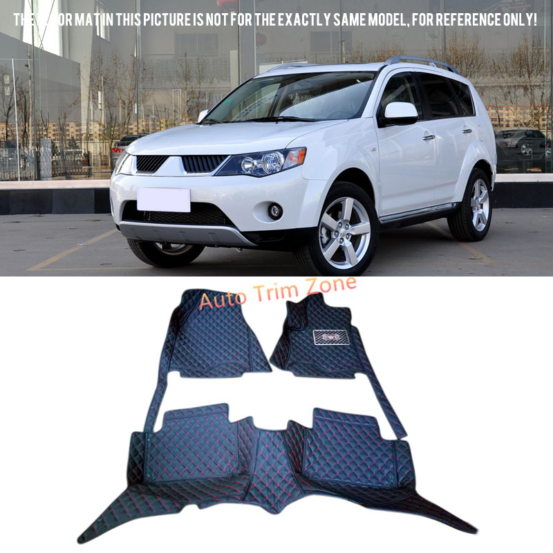 цена Interior Black Floor Mats & Carpets For Mitsubishi Outlander 2006 2007 2008 2009 онлайн в 2017 году