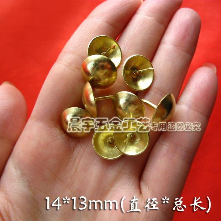 decorative nail heads for furniture. 1413mm 200pcs sofa planar bubble nails gold decorative nail head upholstery tacks furniture antique heads for