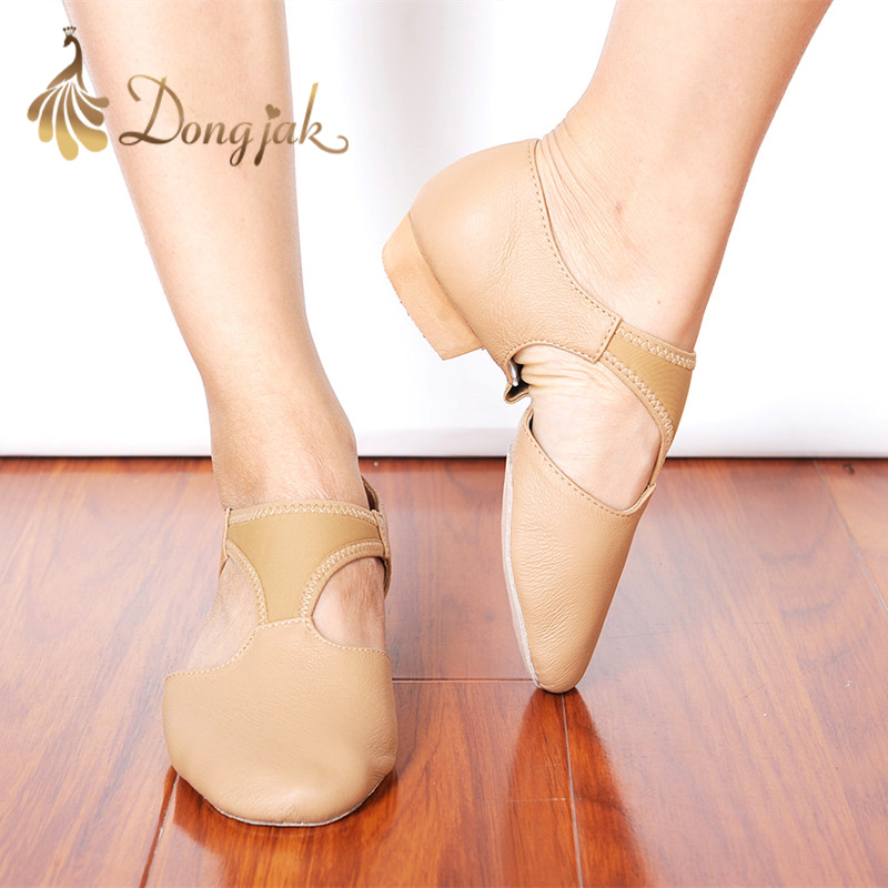 Dongjak Hot sales women Latin Dance Shoes heeled Ballroom Dancing Ballet Shoes for Women Ladies Girls Tango shoes