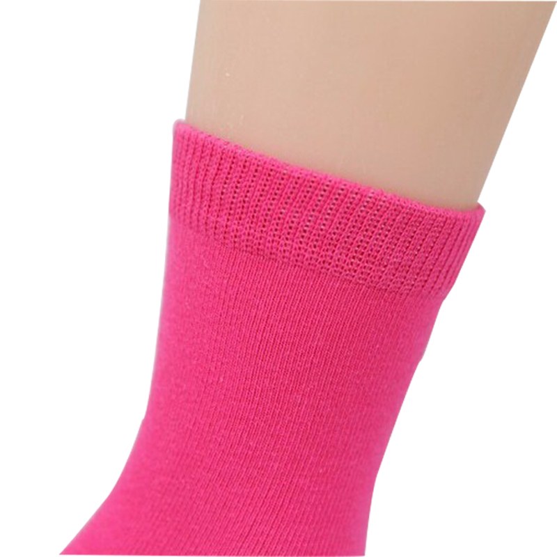 20 Pieces=10 Pairs Children Socks Spring&Autumn Cotton High Quality Candy Colors Girls Socks With Boys Socks 1-9 Year Kids Socks 4