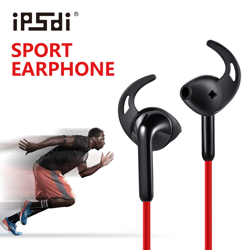 Ipsdi 213 running sweatproof deporte auriculares impermeables auriculares estére