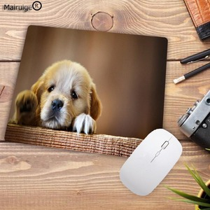 Image 3 - Mairuige Promotion Russia Cute Dog Small Mouse Pad Office Creativity Mouse Mat Gaming Mouse Pad 220X180X2MM Computer Mousepad