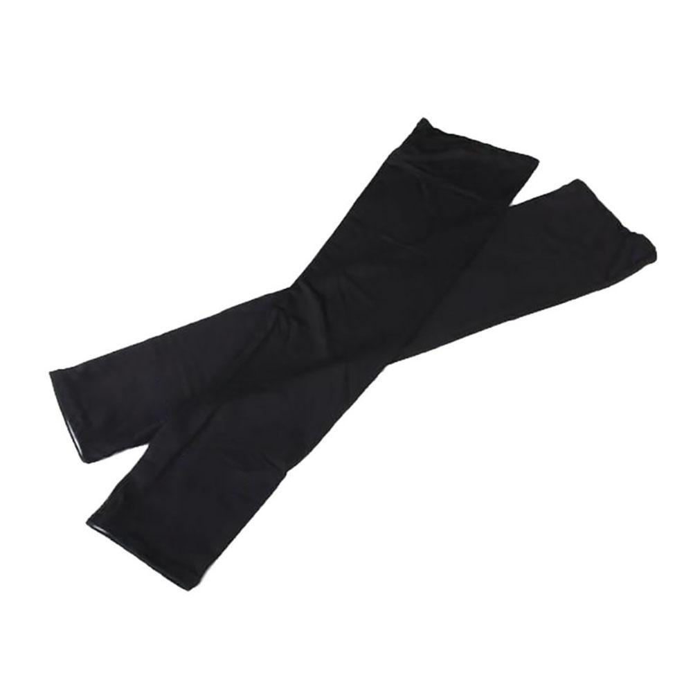 Women Summer Mitten Long Sunscreen Gloves Unisex Electric Bicycle Arm Sleeve Anti-UV  Semi-Finger Breathable Gloves Black A190