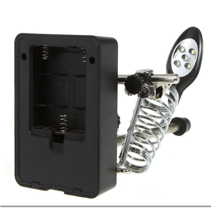 溶接拡大鏡5 LEDライト2.5X 7.5X - ツールセット - 写真 5