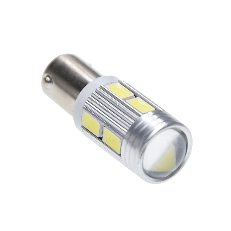 Image 2 - 10Pcs New Bulb 5630 5730 SMD 10 LED H6W BAX9S 150 Degrees LED Lamp For Parking Light /DRL/Front rear Turn Signal lights 12V DC-in Signal Lamp from Automobiles & Motorcycles