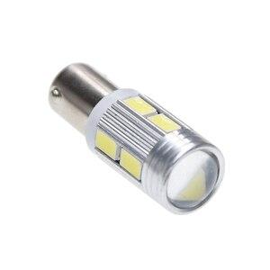 Image 2 - 10Pcs New Bulb 5630 5730 SMD 10 LED H6W BAX9S 150 Degrees LED Lamp For Parking Light /DRL/Front rear Turn Signal lights 12V DC