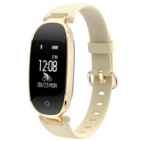 Bluetooth Smart Bracelet S3 With Heart Rate Monitor Fitness Tracker Sleep Monitor Smart Wristband For Fashion