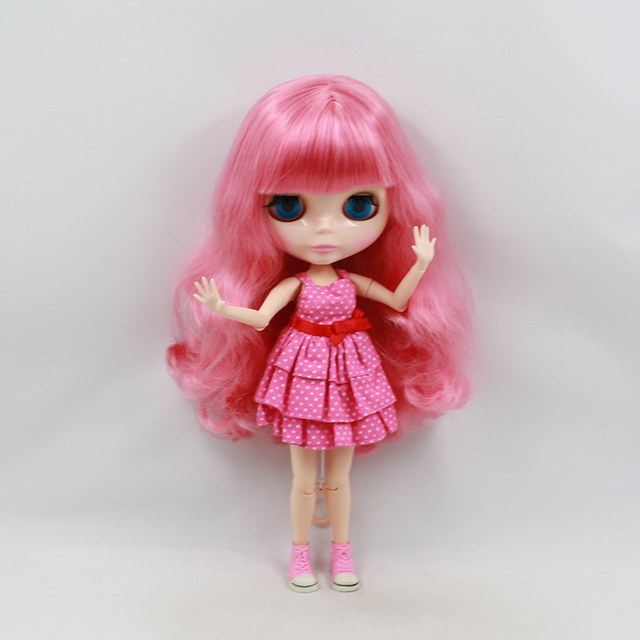 ICY Neo Blythe Doll Pink Hair Jointed Body