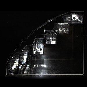 Image 3 - 6 ярусов, Косметический лак для макияжа, лак для ногтей, подставка для дисплея, держатель, коробка для ювелирных изделий, акриловая упаковка, органайзер, полка для хранения