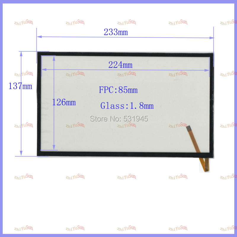 233mm*137 resistive touch screen display on the outside flat screen handwriting GPS navigation 10.1 -inch use tablePC mf 786 070f fhx touch screen screen 7 inch touch screen handwriting version of the call