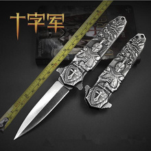 stonewash tactical knife folding Blade Outdoor Army Hunting Knife Survival tools 3D carving knives Camping EDC collection gifts