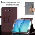 Для Samsung Galaxy Tab E 9.6 T560 T561 9.6 7-дюймовый Планшетный Роскошные Кожаные Карты Бумажник Ремешок Крышки Случая Стойки