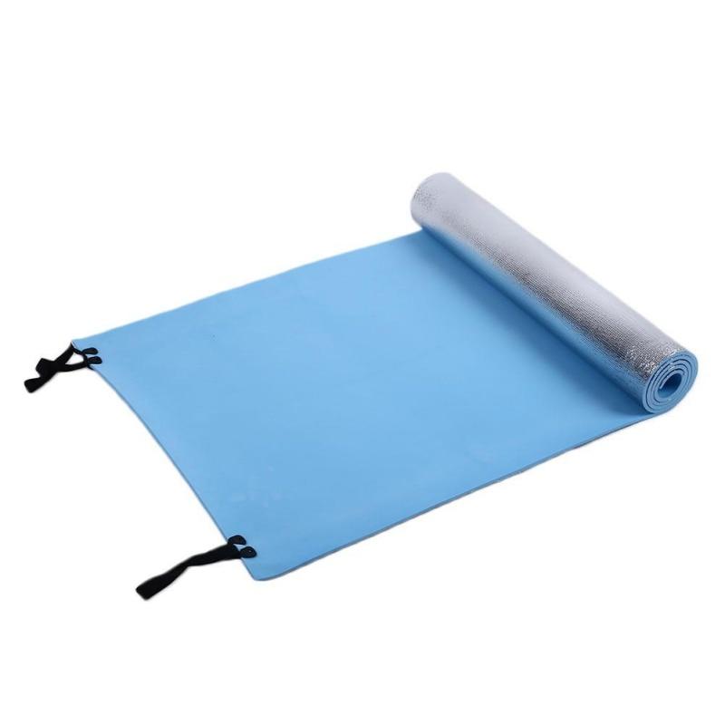 180x50x0.5 Camping Mat Foldable Sleeping Mattress Mat Waterproof Aluminum Foil Outdoor Travel Mat Sports Fitness Yoga Mats