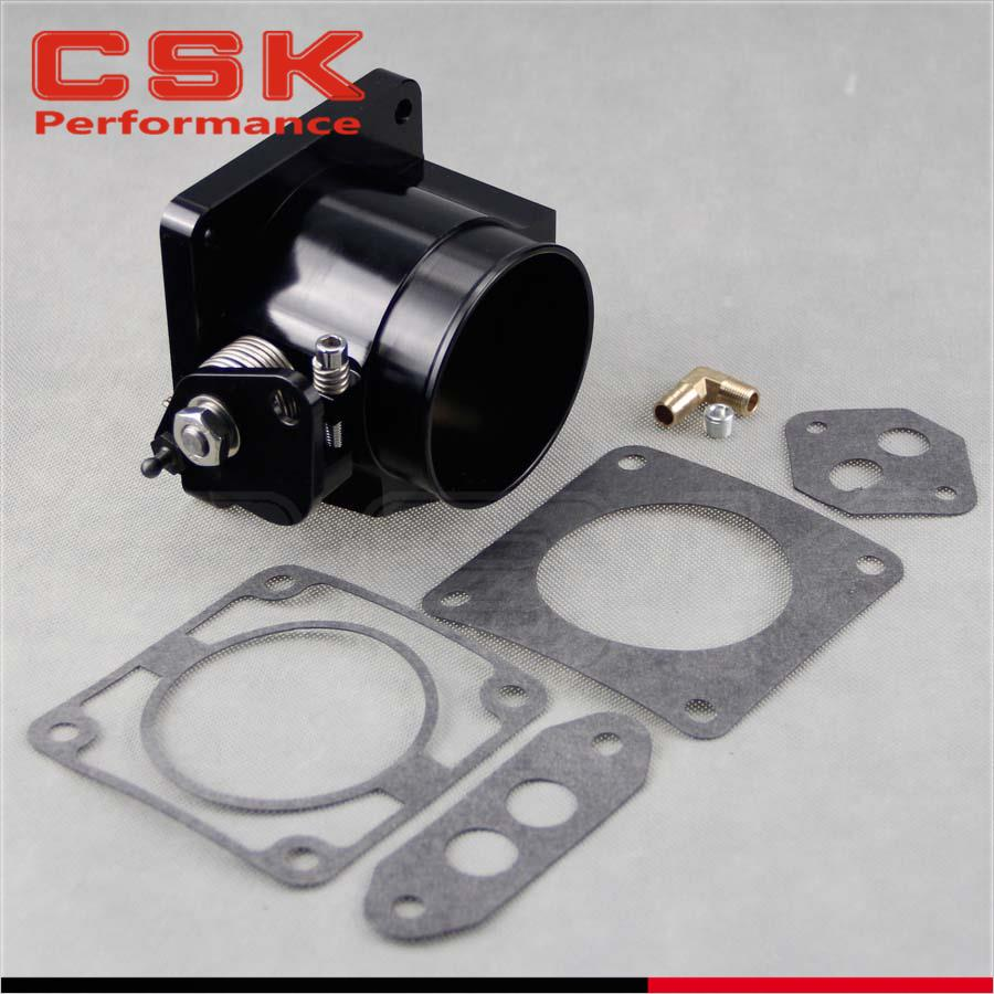 Performance Billet 75mm Throttle Body For 86 93 Ford Mustang Gt Fuel Filter Location Cobra Lx 50 Black In Valve Train From Automobiles Motorcycles On Alibaba