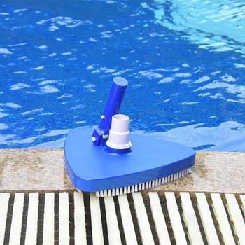 пылесосы для бассейна | Инструменты для чистки бассейна, вакуумная головка, щетка, треугольная всасывающая головка, наконечник, очиститель для плавательных бассей...