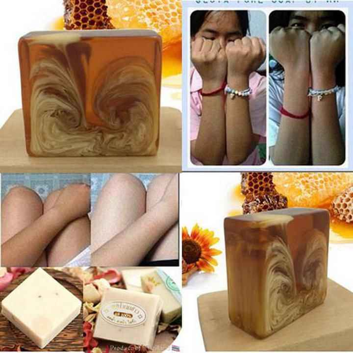 Nature honey milk Soap GLUTATHIONE WHITENING SKIN BEAUTY