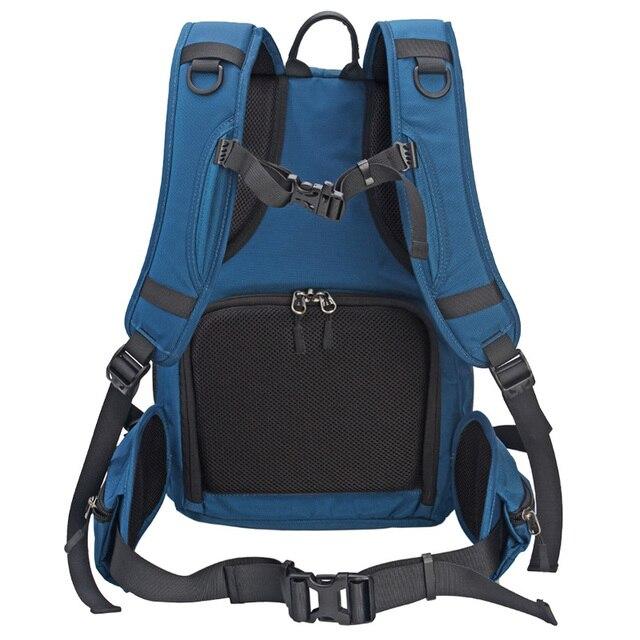 Водонепроницаемый рюкзак для камеры многофункциональный Многофункциональный цифровой SLR Мягкий сумка для фотокамеры с дождевой крышкой для Nikon Canon sony
