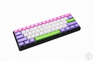 Image 3 - Capa plana de alumínio anodizado com pés de metal, para teclado mecânico personalizado, preto, tamanho cinza, colorida para gh60 xd60 xd64 satan