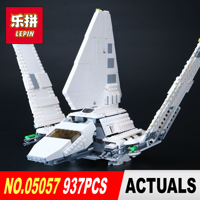 Lepin 05057 STAR Series New The Fighting Shuttle Set Model Building Kit Blocks Bricks Toy Children Gift With legoed 75094 WARS 2017 new fashion 3pcs women lady handbag shoulder bag lady tote messenger leather crossbody purse set solid zipper gift soft