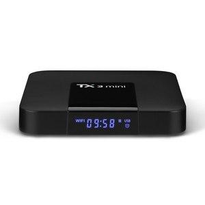 Image 3 - TX3 ミニスマート Tv ボックス S905W クアッドコア 2.4GHz Wifi アンドロイド 8.1 サポート 4 18K Netflix YouTube メディアプレーヤー TX3mini セットトップボックス