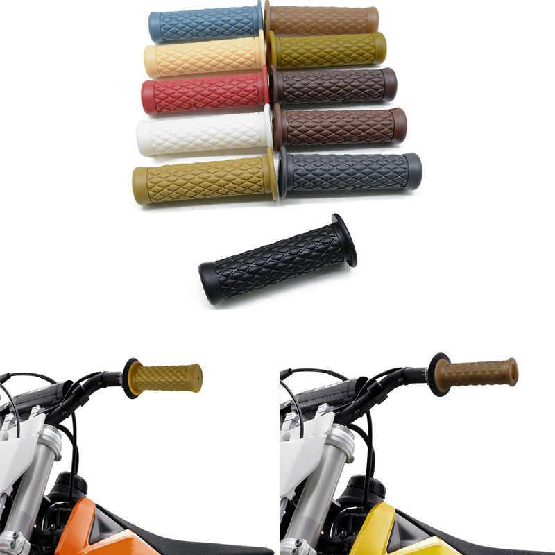 Универсальная мотоциклетная резиновая рукоятка 7/8 &quot22 мм с ЧПУ для мотоцикла