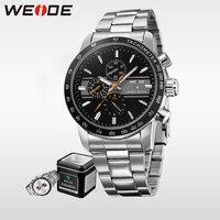WEIDE business quartz sports wrist watch casual genuine man watch 2017 relogio automatico masculino wristwatch mens clock Jung