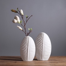 Modern creative Vase Model Figurines & Miniatures  Ceramic Decoration Crafts Furnishing Articles For Home Decor