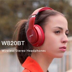 Image 4 - EDIFIER W820BT Bluetooth אוזניות אלחוטי על אוזן רעש בידוד CSR טכנולוגיה עד 80 שעות השמעת זמן לקפל בקלות
