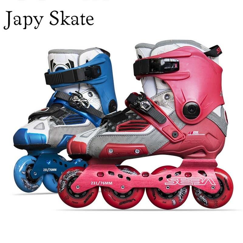 Prix pour Jus japy Skate 100% D'origine SEBA HVG SEBA Haute Globle Adulte Patins À Roues Alignées À Rouleaux Chaussures De Patinage Slalom Coulissante FSK Patines Adulto