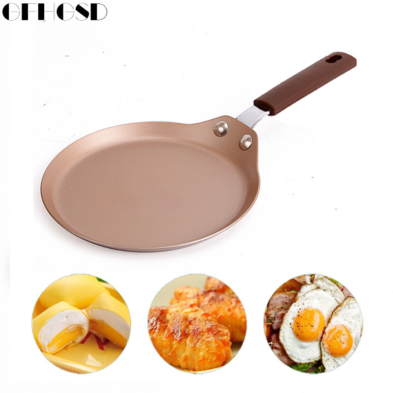 GFHGSD Non-stick Breakfast Carbon Frying Pan with Carbon Steel Coating and Induction cooking,Oven & Dishwasher safe 9 & 6 Inches