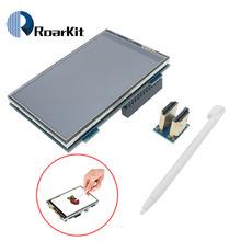 Raspberry Pi 3 5 cala HDMI ekran dotykowy lcd 3 5 cala wyświetlacz 60 fps 1920*1080 IPS lepiej niż 5 cali i 7 cali tanie tanio Roarkit 3 5 inch TFT TFT 3 5 inch (320*480)