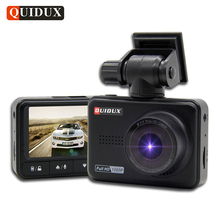 QUIDUX mini Car DVR 1080P WDR Night Vision Full HD Video Recorder Camera Novatek 96658 Dashcam 170 Wide Angle Vehicle Camcorder