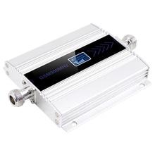Led anzeige Gsm 900 Mhz Repeater 2G 3G 4G Celular Handy Signal Repeater Booster,900 Mhz Gsm Verstärker + Yagi antenne
